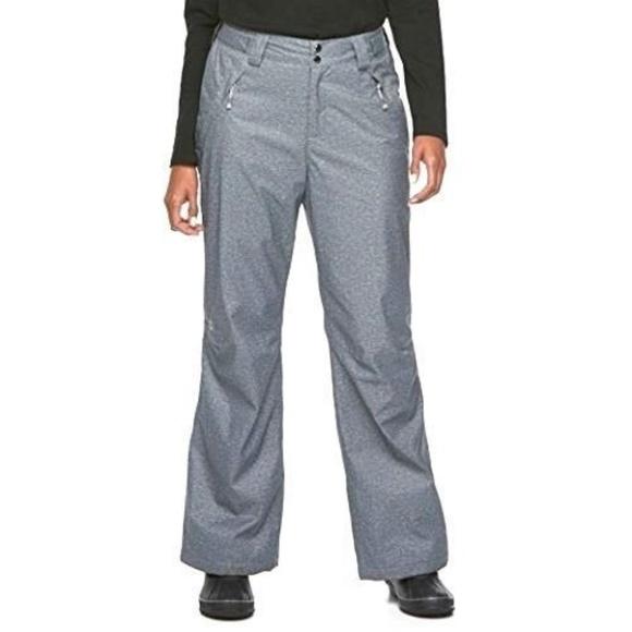Gerry Women/'s Snow-tech 4 Way Stretch Pant BLACK XS